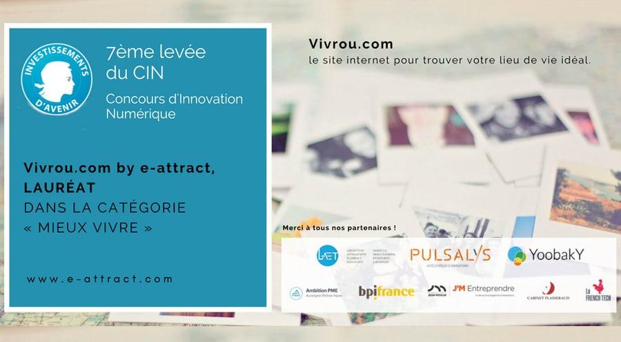 Lauréat du Concours d'innovation numérique dans la catégorie mieux vivre