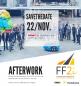Visuel save the date pour l'Afterwork FF2i avec SeLoger