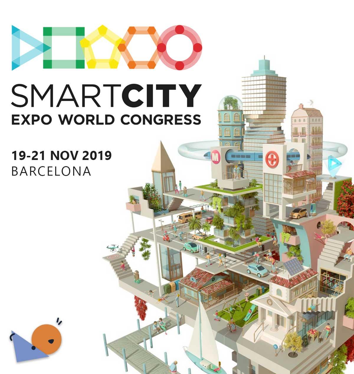 Jules et Camille de Vivroù à la Smart City Expo à Barcelone