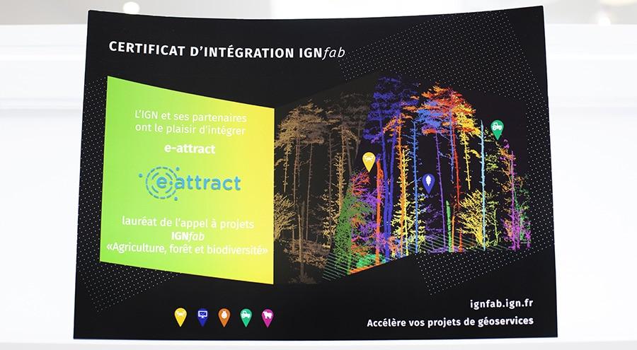 Certificat d'intégration IGNfab